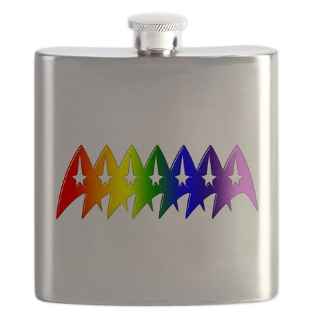 star_trek_rainbow_pride_bevel_flask